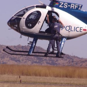 A demonstration using the SAPS helicopter
